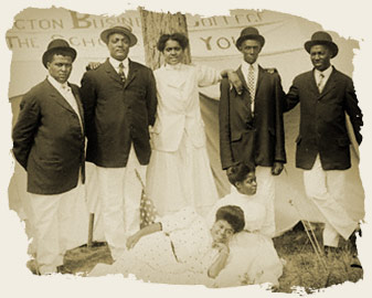 Jubilee Singers at the Lexington Business College, Lexington, Nebraska, 1909